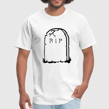 Ripped Kids RIP gravestone halloween - Men's T-Shirt