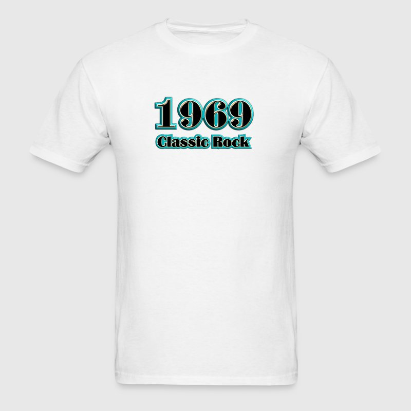 1969 classic rock - Men's T-Shirt
