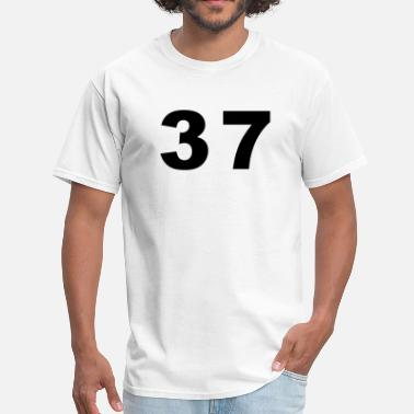 Number-37-thirty-seven Number - 37 - Thirty Seven - Men's T-Shirt