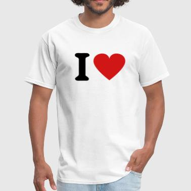 I Heart - Men's T-Shirt