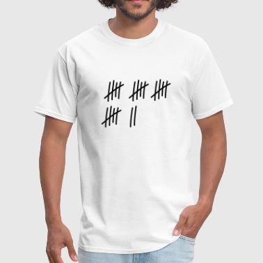 22 lines // 22 times // birthday // gift // sport - Men's T-Shirt
