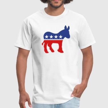 Democratic Donkey - Men's T-Shirt