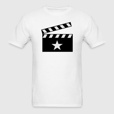 Movie Clapper Board - Men's T-Shirt
