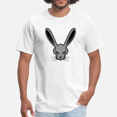 Angry Rabbit Angry Rabbit Face - Men's T-Shirt