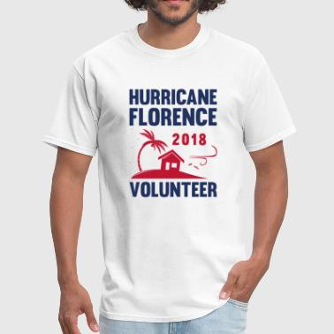 Hurricane Florence Volunteer - Men's T-Shirt