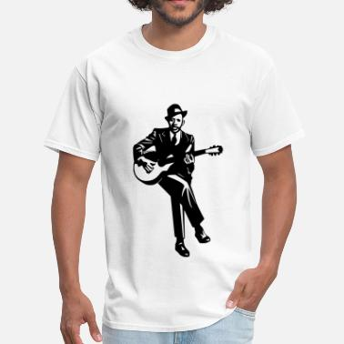Blues Blues Player - Men's T-Shirt