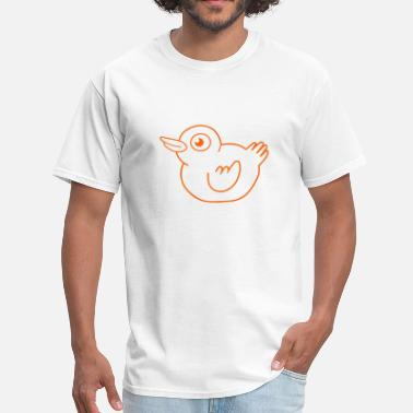 Duck Baby Cartoon - Men's T-Shirt