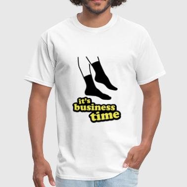 It's Business Time - Socks - Men's T-Shirt