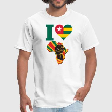 Togo Black Power - Men's T-Shirt