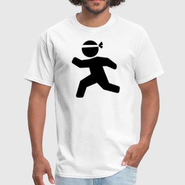 Martial Arts Say Karate Martial Arts Stickman - Men's T-Shirt