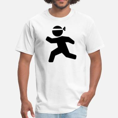 Stickman Quotes Karate Martial Arts Stickman - Men's T-Shirt