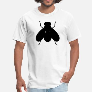 Silhouette Insects Fly Silhouette - Men's T-Shirt