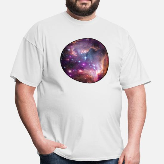 82267ee967159 Galaxy - Space - Stars - Cosmic - Art - Universe Men's T-Shirt ...