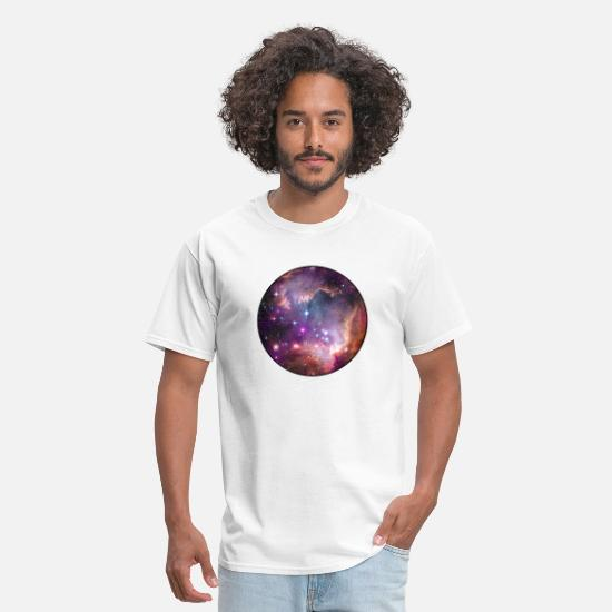 Galaxy T-Shirts - Galaxy - Space - Stars - Cosmic - Art - Universe - Men's T-Shirt white