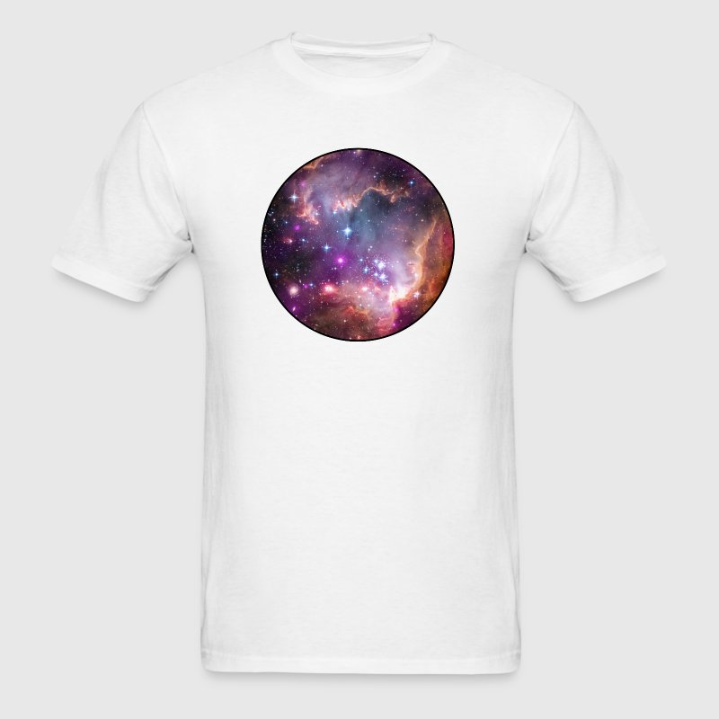 Galaxy - Space - Stars - Cosmic - Art - Universe - Men's T-Shirt