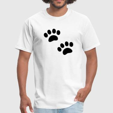 Animal Footprints  - Men's T-Shirt