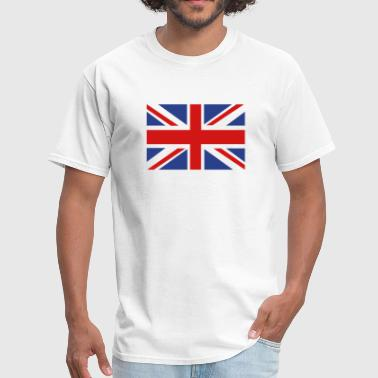 English Flag British Flag - Men's T-Shirt