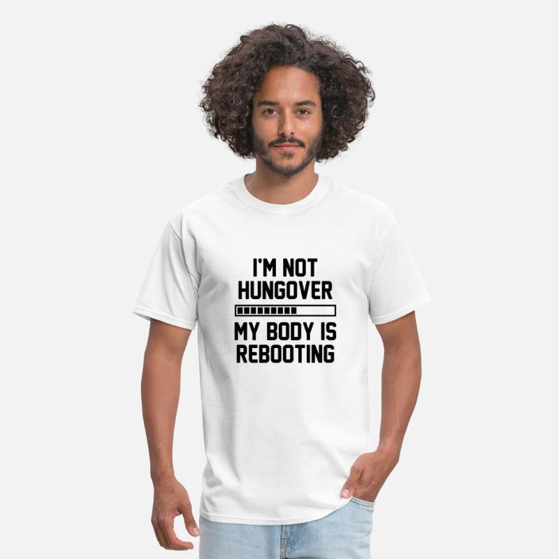 Alcohol T-Shirts - I'm Not Hungover - Men's T-Shirt white