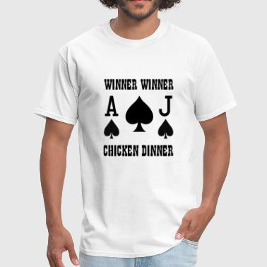 Winner Winner - Men's T-Shirt