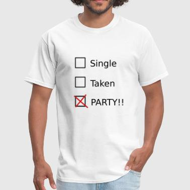 Single Takern Party - Men's T-Shirt