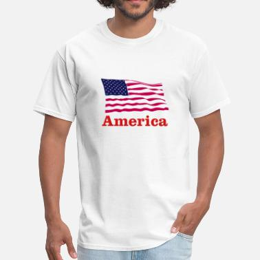 Pakistani American flag - Men's T-Shirt