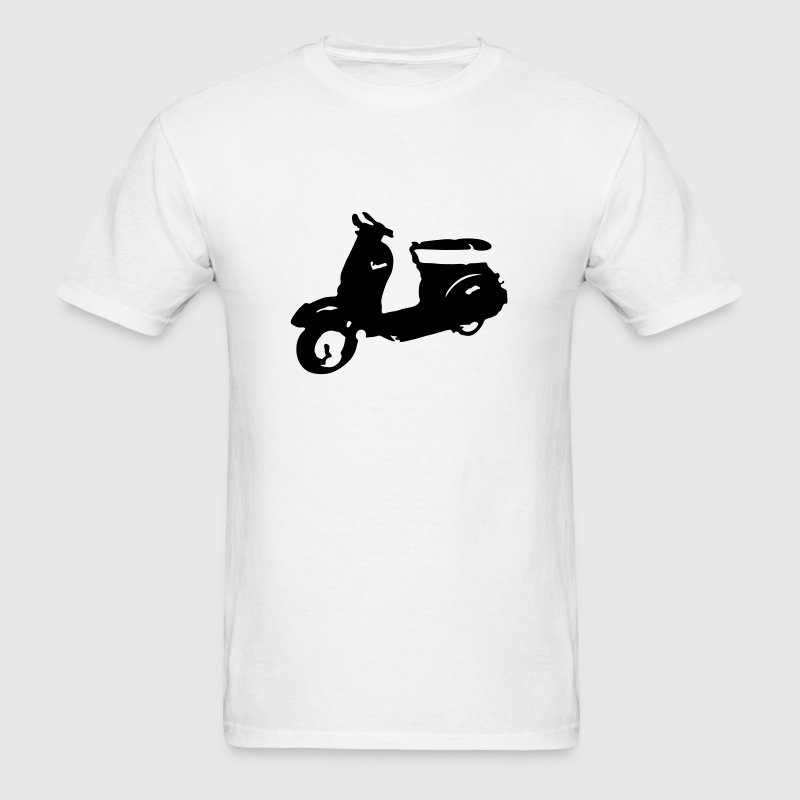 Vespa Scooter - Men's T-Shirt