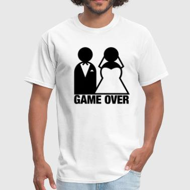 Bride And Groom Game Over Game Over - Wedding Bride and Groom - Men's T-Shirt