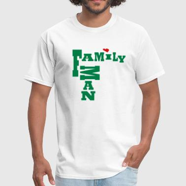 Family Man, No Background - Men's T-Shirt