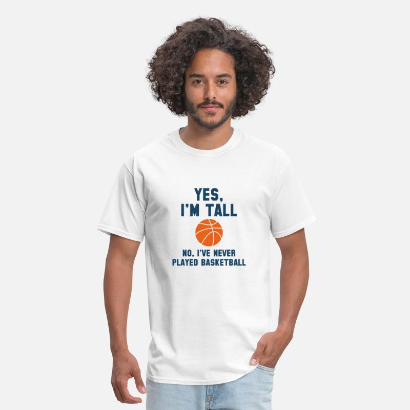 Tall T-Shirts - Yes, I'm Tall - Men's T-Shirt white