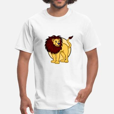Tigers Leopards lion leo tiger leopard - Men's T-Shirt