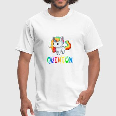 Quinton Unicorn - Men's T-Shirt