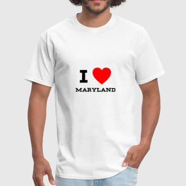 I Love Maryland i love Maryland - Men's T-Shirt