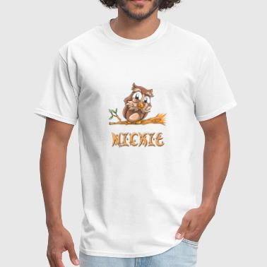 Nicky & Nickie Owl - Men's T-Shirt