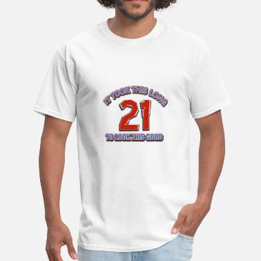 Shop 21st Birthday Designs T Shirts Online