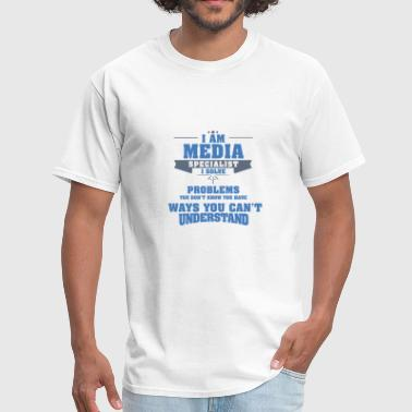 media designer - Men's T-Shirt