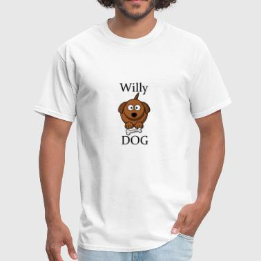 WillyDog gift idea gift present - Men's T-Shirt
