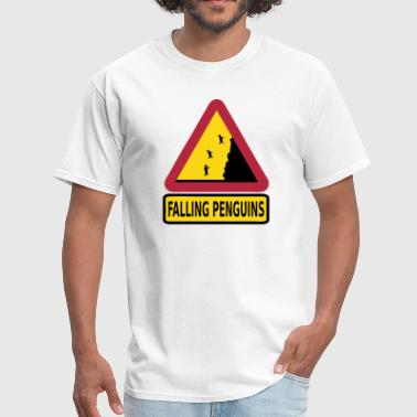 FALLING PENGUINS - Men's T-Shirt