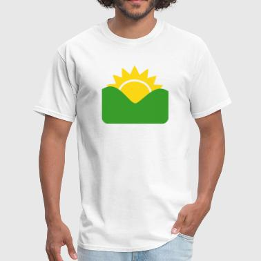 Sun Rising  - Men's T-Shirt