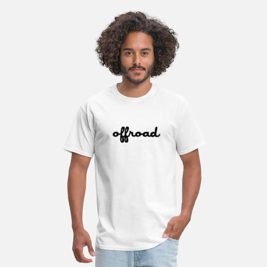 Jeep T-Shirts - Off Road - Men's T-Shirt white