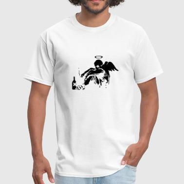 Banksy Fallen Angel Banksy Fallen Angel - Men's T-Shirt