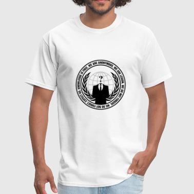 Anonymous original logo - Men's T-Shirt