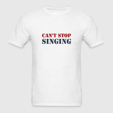 Singing Vocalist - Men's T-Shirt