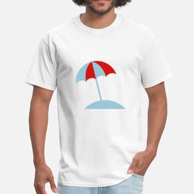 Red Beach Beach - Men's T-Shirt