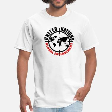 Enslavement UN global enslavement - Men's T-Shirt