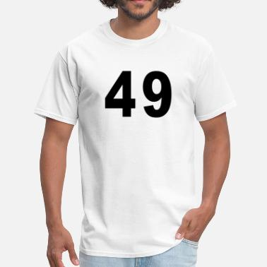 Forty Nine Number - 49 - Forty Nine - Men's T-Shirt
