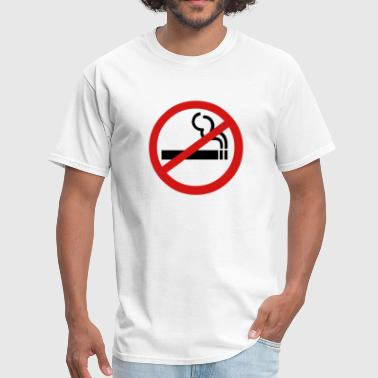 Smoking Ban - Men's T-Shirt