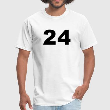 Number - 24 - Twenty-Four - Men's T-Shirt