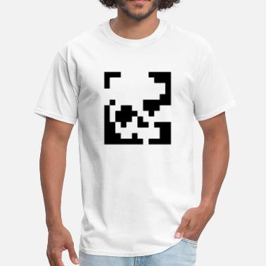 Pixelated Pixelated Skull - Men's T-Shirt