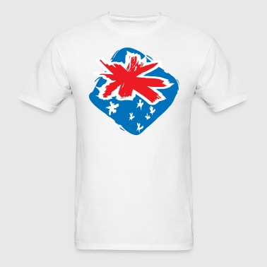 Flag of Australia - Men's T-Shirt