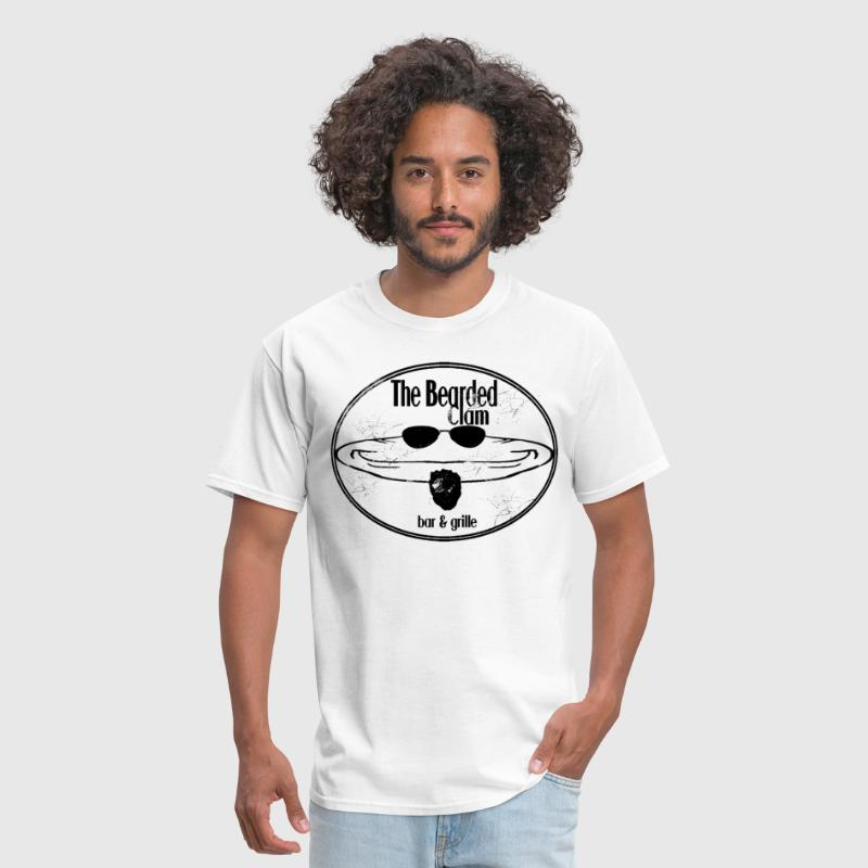 THE BEARDED CLAM - Men's T-Shirt